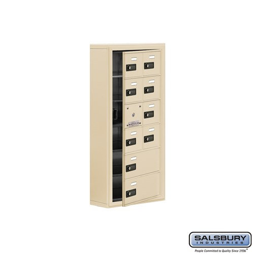 Salsbury Cell Phone Storage Locker - with Front Access - 19165-10ASC