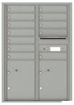 versatile 4C12D-12-SM 4CFL Front-loading Mailbox