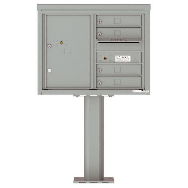 versatile 4C06D-04-P 4CFL Front-loading Mailbox