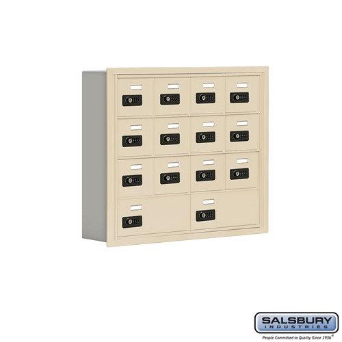 Salsbury Cell Phone Storage Locker - 4 Door High Unit  - 19045-14ARC