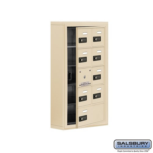 Salsbury Cell Phone Storage Locker - with Front Access - 19155-09ASC