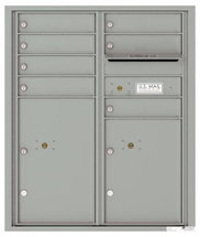 versatile 4CADD-07-SM 4CFL Front-loading Mailbox