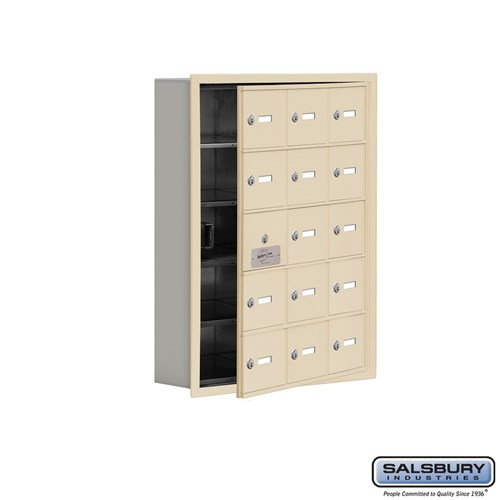 Salsbury Cell Phone Storage Locker - with Front Access - 19155-15ARK