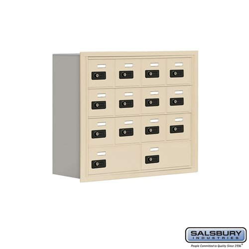 Salsbury Cell Phone Storage Locker - 4 Door High Unit  - 19048-14ARC