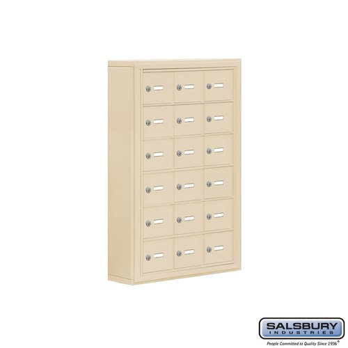 Salsbury Cell Phone Storage Locker - 6 Door High Unit  - 19065-18ASK