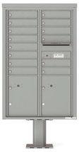 versatile 4C13D-14-P 4CFL Front-loading Mailbox