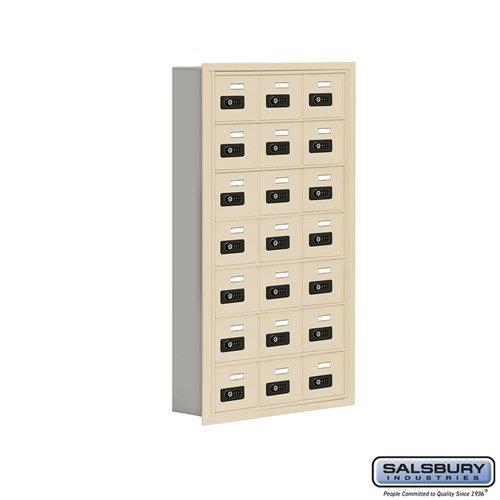 Salsbury Cell Phone Storage Locker - 7 Door High Unit  - 19075-21ARC