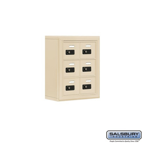 Salsbury Cell Phone Storage Locker - 3 Door High Unit  - 19035-06ASC