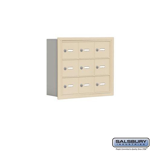 Salsbury Cell Phone Storage Locker - 3 Door High Unit  - 19035-09ARK