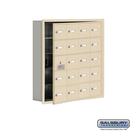 Salsbury Cell Phone Storage Locker - with Front Access - 19155-20ARK