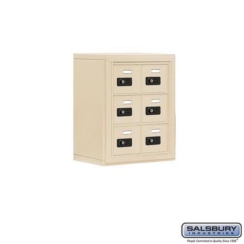 Salsbury Cell Phone Storage Locker - 3 Door High Unit  - 19038-06ASC