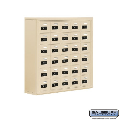 Salsbury Cell Phone Storage Locker - 6 Door High Unit  - 19068-30ASC