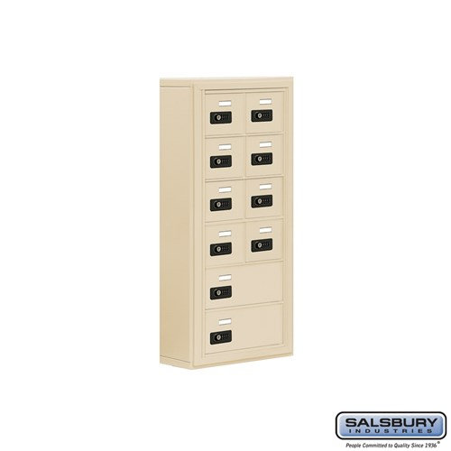 Salsbury Cell Phone Storage Locker - 6 Door High Unit  - 19065-10ASC