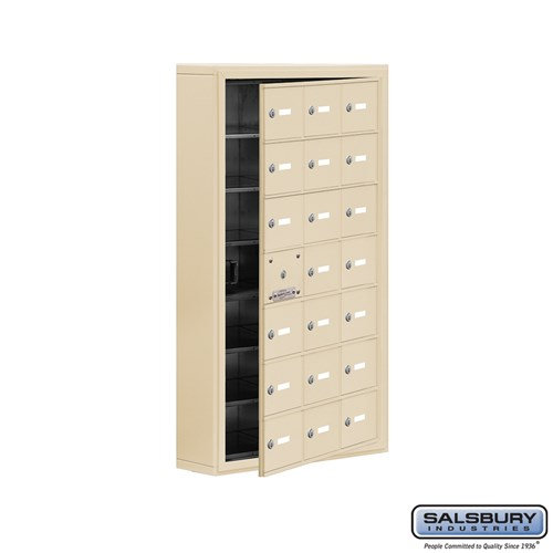 Salsbury Cell Phone Storage Locker - with Front Access - 19175-21ASK