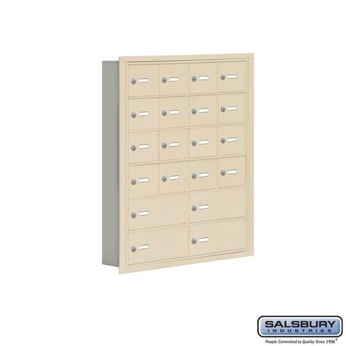 Salsbury Cell Phone Storage Locker - 6 Door High Unit  - 19065-20ARK