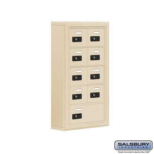 Salsbury Cell Phone Storage Locker - 5 Door High Unit  - 19055-09ASC