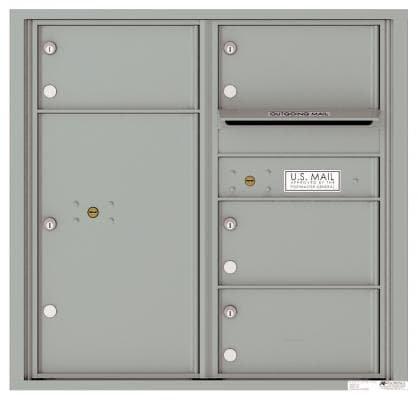 versatile 4C08D-04 4CFL Front-loading Mailbox