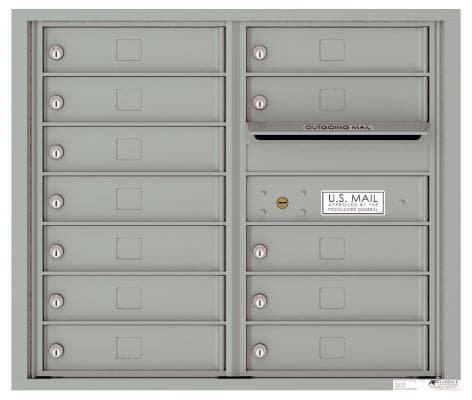 versatile 4C07D-12-SM 4CFL Front-loading Mailbox
