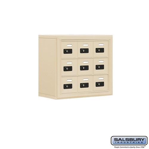 Salsbury Cell Phone Storage Locker - 3 Door High Unit  - 19038-09ASC