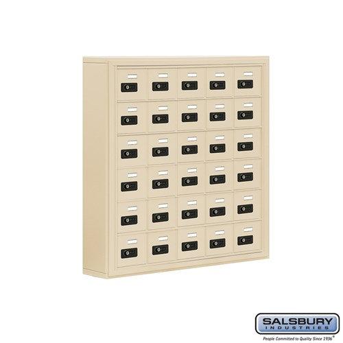 Salsbury Cell Phone Storage Locker - 6 Door High Unit  - 19065-30ASC
