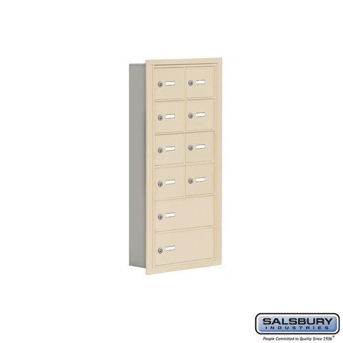 Salsbury Cell Phone Storage Locker - 6 Door High Unit  - 19065-10ARK