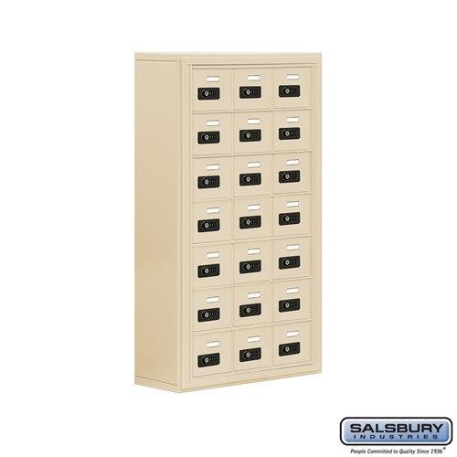 Salsbury Cell Phone Storage Locker - 7 Door High Unit  - 19078-21ASC