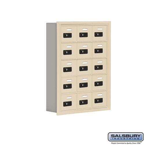Salsbury Cell Phone Storage Locker - 5 Door High Unit  - 19055-15ARC