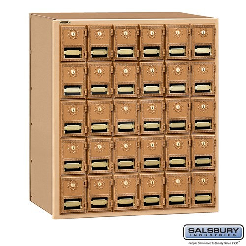 Salsbury Brass Mailbox - 2030RL