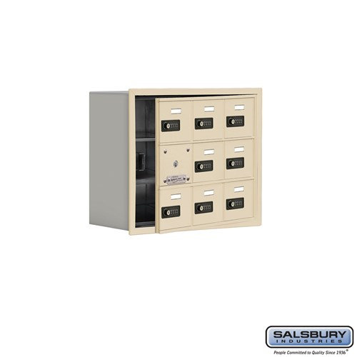 Salsbury Cell Phone Storage Locker - with Front Access - 19138-09ARC