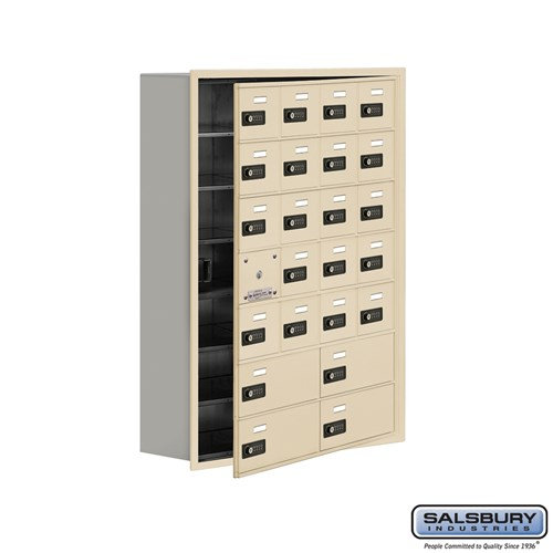 Salsbury Cell Phone Storage Locker - with Front Access - 19178-24ARC