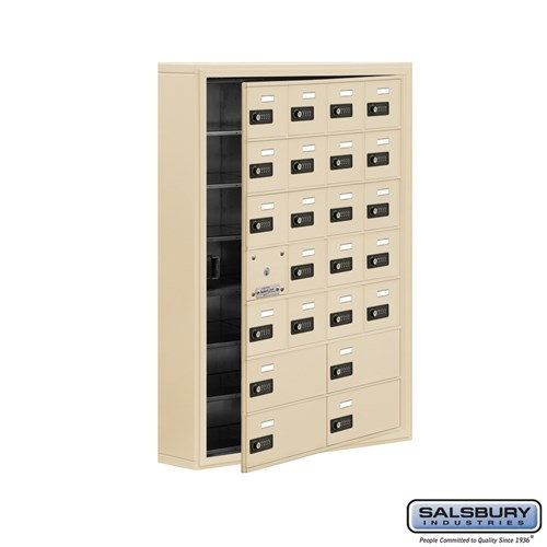 Salsbury Cell Phone Storage Locker - with Front Access - 19175-24ASC