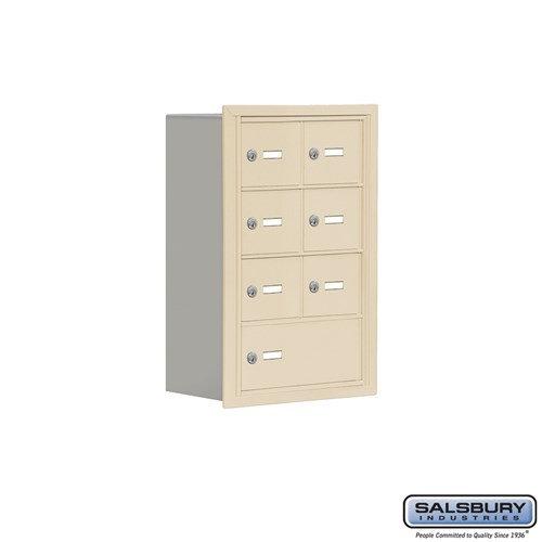 Salsbury Cell Phone Storage Locker - 4 Door High Unit  - 19048-07ARK