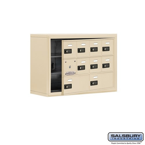 Salsbury Cell Phone Storage Locker - with Front Access - 19138-10ASC