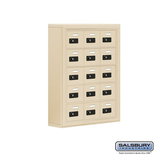 Salsbury Cell Phone Storage Locker - 5 Door High Unit  - 19055-15ASC