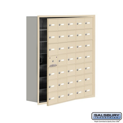 Salsbury Cell Phone Storage Locker - with Front Access - 19178-35ARK
