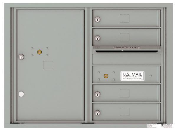 versatile 4C06D-04-SM 4CFL Front-loading Mailbox