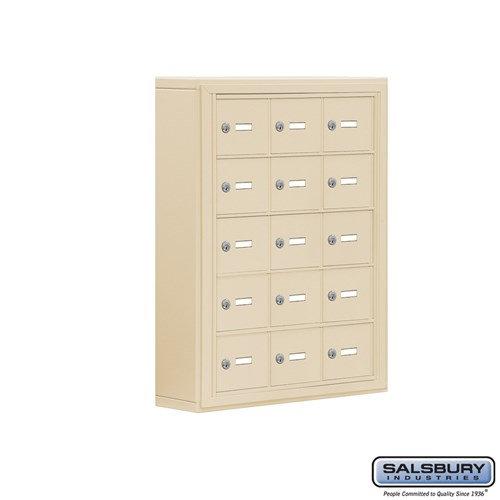 Salsbury Cell Phone Storage Locker - 5 Door High Unit  - 19055-15ASK