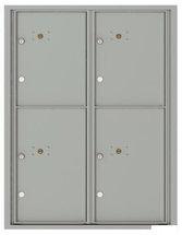versatile 4C11D-4P-SM 4CFL Front-loading Mailbox
