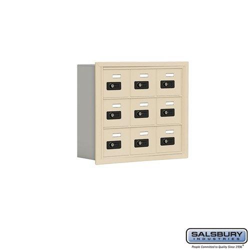 Salsbury Cell Phone Storage Locker - 3 Door High Unit  - 19035-09ARC