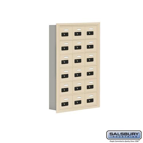 Salsbury Cell Phone Storage Locker - 6 Door High Unit  - 19065-18ARC