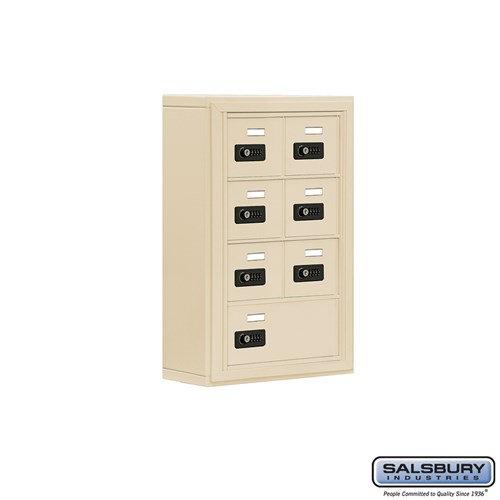 Salsbury Cell Phone Storage Locker - 4 Door High Unit  - 19045-07ASC