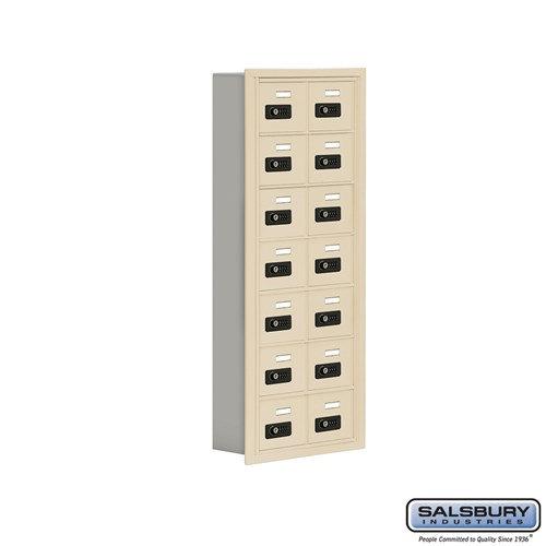 Salsbury Cell Phone Storage Locker - 7 Door High Unit  - 19075-14ARC