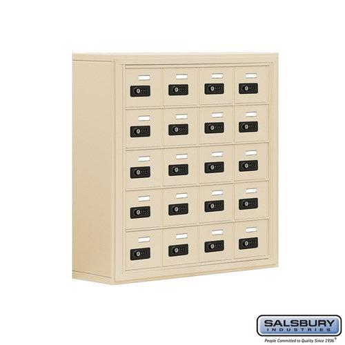 Salsbury Cell Phone Storage Locker - 5 Door High Unit  - 19058-20ASC