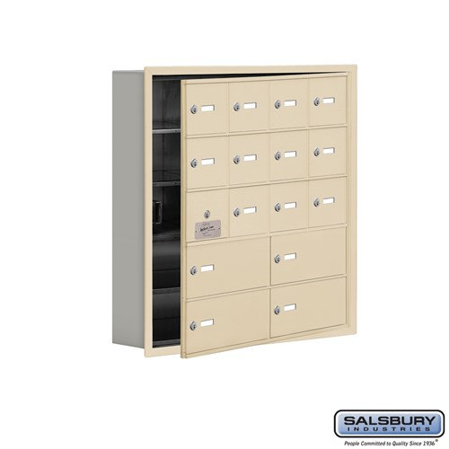 Salsbury Cell Phone Storage Locker - with Front Access - 19155-16ARK