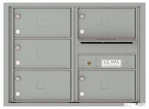 versatile 4C06D-05X-SM 4CFL Front-loading Mailbox