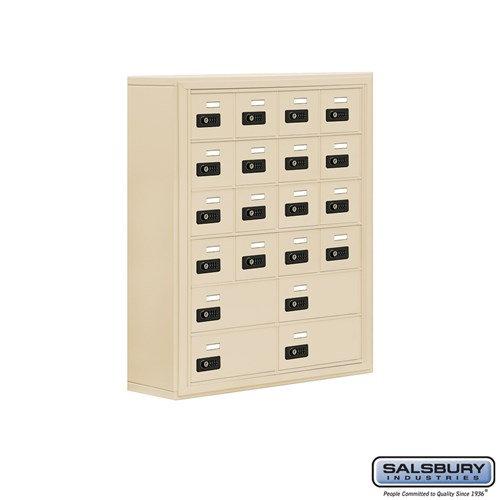 Salsbury Cell Phone Storage Locker - 6 Door High Unit  - 19068-20ASC