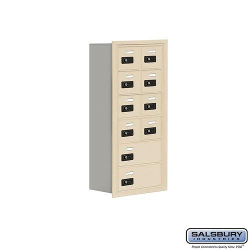 Salsbury Cell Phone Storage Locker - 6 Door High Unit  - 19068-10ARC