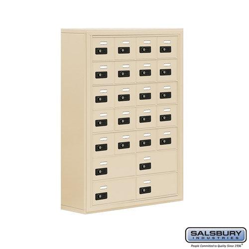 Salsbury Cell Phone Storage Locker - 7 Door High Unit  - 19078-24ASC