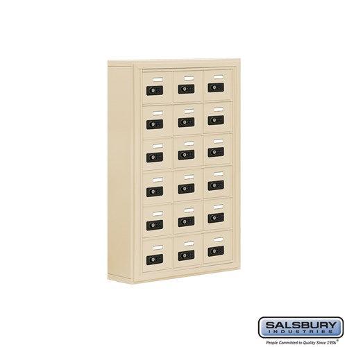 Salsbury Cell Phone Storage Locker - 6 Door High Unit  - 19065-18ASC