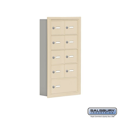 Salsbury Cell Phone Storage Locker - 5 Door High Unit  - 19055-09ARK